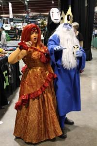 Fire Princess and Ice King