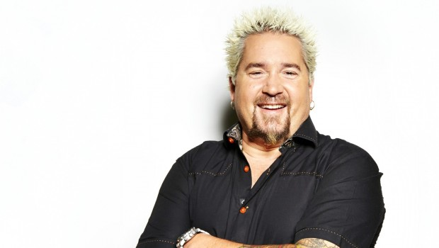 Guy Fieri Portraits & Guy's Super Bowl Grub Tour