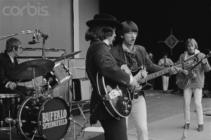 Buffalo Springfield Performing at the Monterey Pop Festival