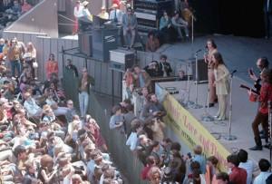 Janis Joplin Performing at Monterey Pop Festival