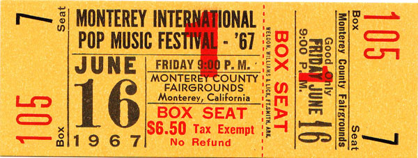 the feedback society 187 the monterey pop festival