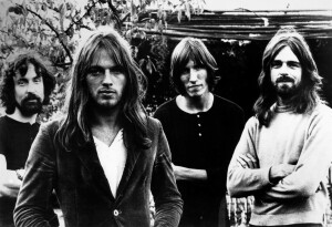 Pink Floyd in 1972, left to right: Nick Mason, David Gilmour, Roger Waters and Rick Wrigh