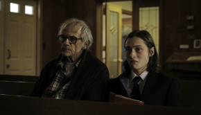 Christopher Lloyd as Bill Crowley and Max Records as John Cleaver in 'I Am Not a Serial Killer'