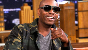 """NEW YORK, NY - JUNE 11:  Dave Chappelle during an interview  on """"The Tonight Show Starring Jimmy Fallon"""" at Rockefeller Center on June 11, 2014 in New York City.  (Photo by Jamie McCarthy/NBC/Getty Images for """"The Tonight Show Starring Jimmy Fallon"""")"""
